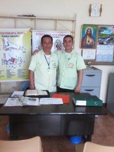 Expertos en Reflexología; Alfredo y Líder
