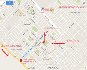 Mapa de Teresa de Calcuta